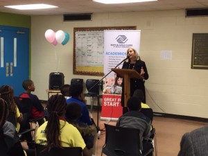 Mayor Berry at Boys & Gilrs Club